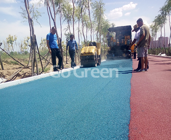 Inner Mongolia Color Asphalt Project