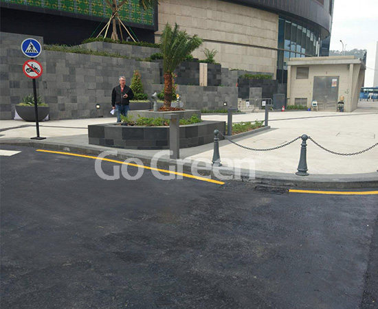 Asphalt Pavement Sealer Applied on Tunnel Maintenance in Macao