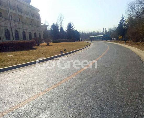 Asphalt Pavement Sealer in 5 Star Hotel Road Renovation Project