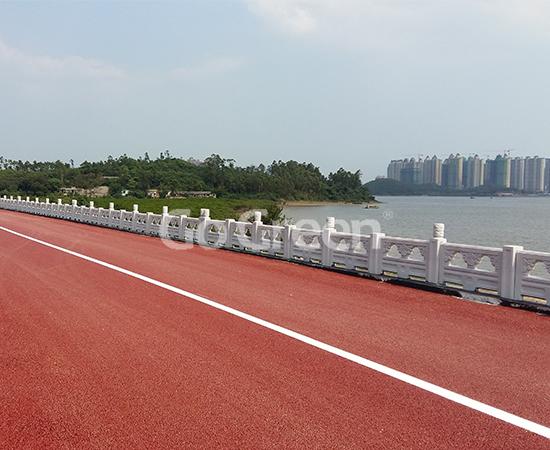 Porous Asphalt in Guangxi Riverside