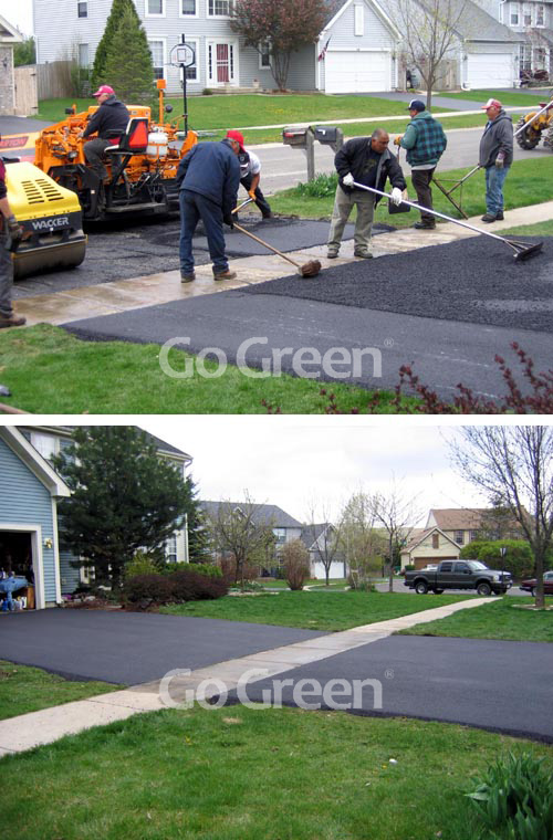 Go green cold mix in USA