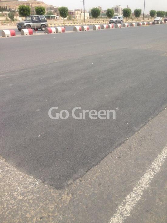 Cold mix asphalt project in Yemen