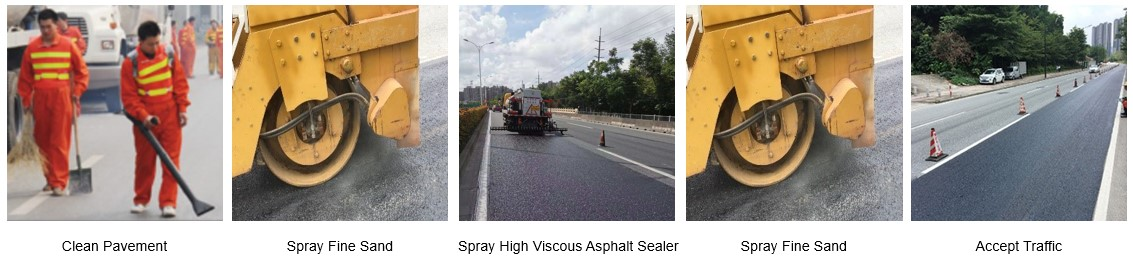 High Viscous Asphalt Sealer