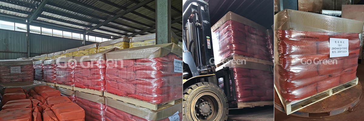 Go Green Iron Oxide Red Pigment Export in Large Quantities