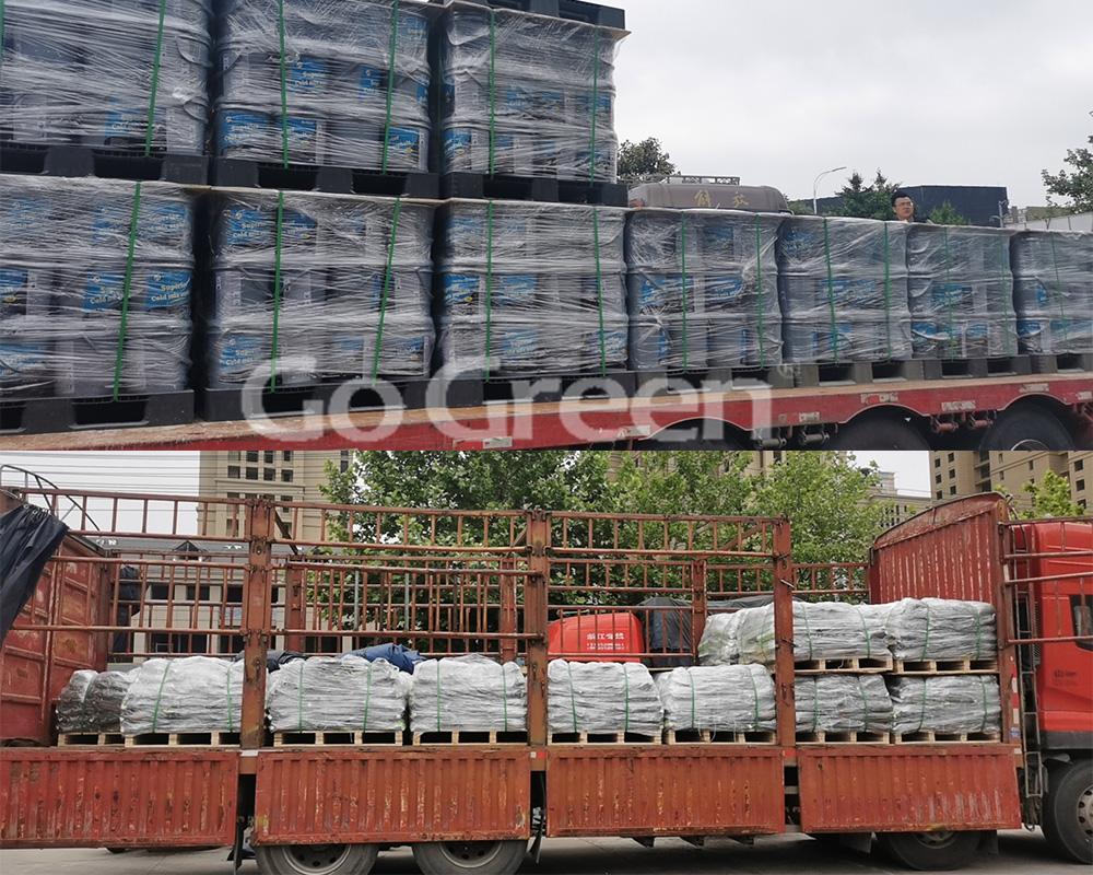 Go Green overseas export cargo photos collection