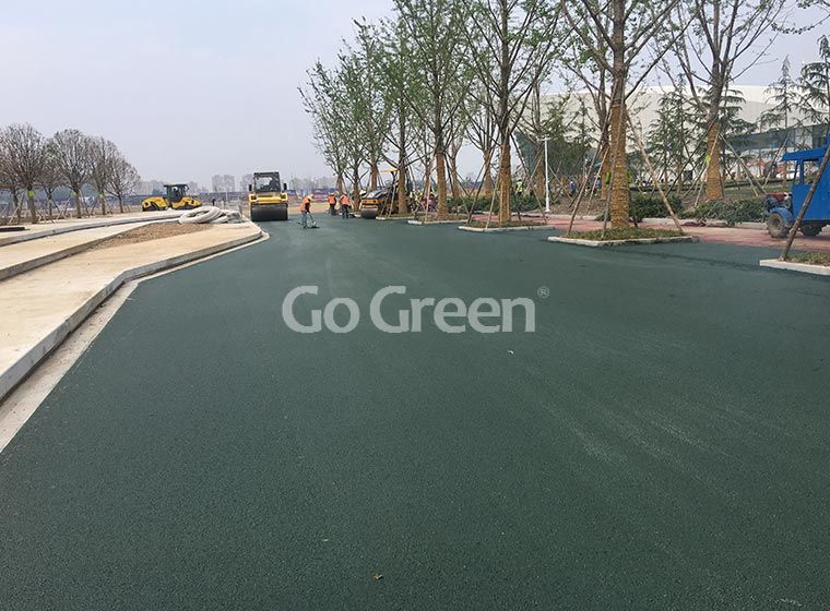Extremely Hot Colorless Asphalt Binder