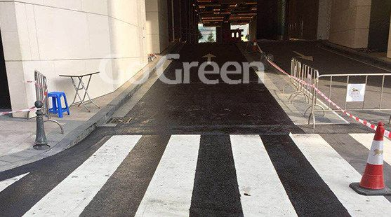 Asphalt Pavement Sealer Applied on Tunnel Maintenance in Macao