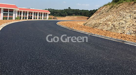 Go Green Black Porous Asphalt Project in Suzhou