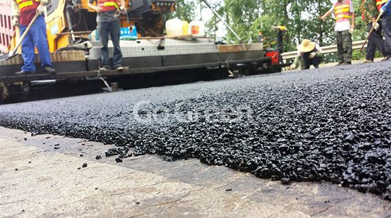 Micro Paving Asphalt Overlay Project in Foshan